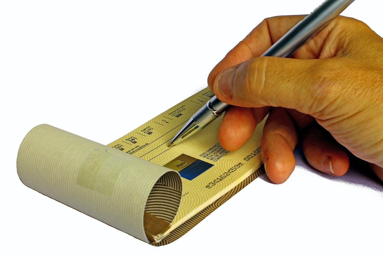 La matrice di un assegno costituisce una mera annotazione
